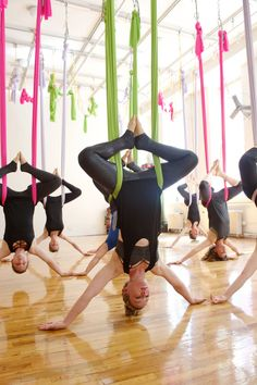 Aerial Yoga - Yoga in New York