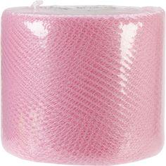 """Net Mesh 3"""""""" Wide 40yd Spool-Paris Pink"""