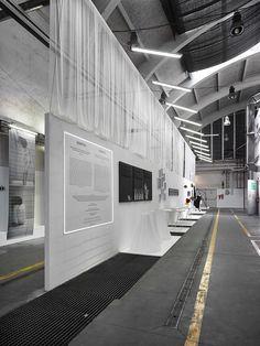 exhibition design by Formafatal studio