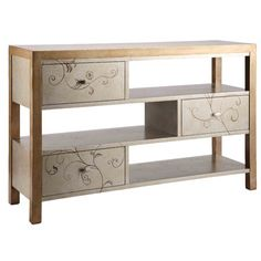 Stein World Sterling Console Table
