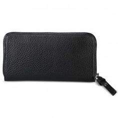 Brieftasche WALETTA in Schwarz Nylons, George Gina Lucy, Shops, Zip Around Wallet, Accessories, Fashion, Fashion Styles, Pocket Wallet, Bags