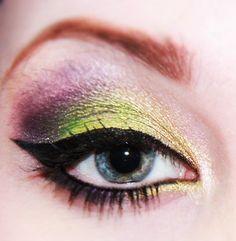 Eyes: interesting combo