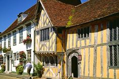 Lavenham - Suffolk I grew up near here.. this was one of my favourite buildings