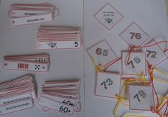 Math Workshop CP / - manipulating numbers from 60 to 79 Math 2, 2nd Grade Math, Math Manipulatives, Math Workshop, Math For Kids, Montessori, Classroom, Teaching, Cycle 2