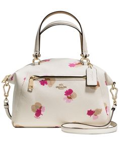 The gracefully domed Prairie Satchel gets a subversively sweet update with a vintage floral print in pop colors. The gracefully domed Prairie Satchel gets a subversively sweet update with a vintage floral print in pop colors. Coach Handbags Outlet, Purses And Handbags, Coach Bags, Coach Outlet, Fashion Handbags, Fashion Bags, Prada Handbags, Fashion Trends, Fashion Fashion