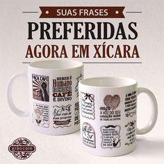 Todo mundo que adora as delícias do Grão Café podem levar um pouquinho de poesia para casa em canecas ilustradas com as frases mais inspiradoras.
