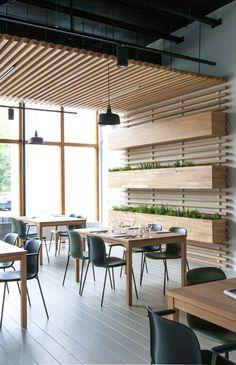 Interieur Plus - Stenden Restaurant | Wannee | vertical garden