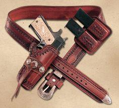 El Diablo Rig Great 1911 1915 holster