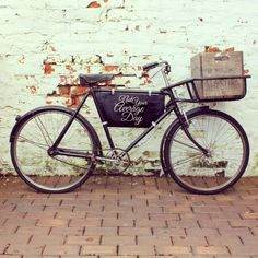 Pashley delivery bicycle