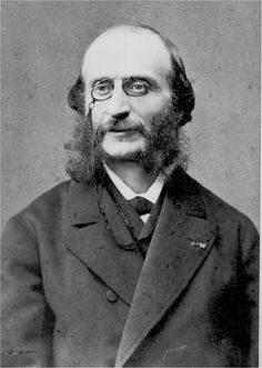 Jacques Offenbach (1819-1880) was a German-born French composer, cellist and impresario of the romantic period. He is remembered for his nearly 100 operettas of the 1850s–1870s and his uncompleted opera The Tales of Hoffmann.