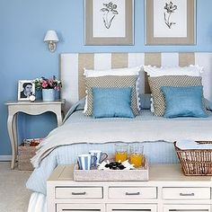 The Best Blue Bedrooms - Style Estate -