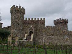 Castello del Amorosa St Helena CA