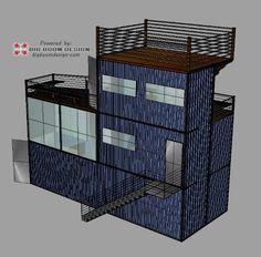 Asheville Shipping Container Home Design, Big Boom Box ISBU homes, North Carolina   Big Boom Blog