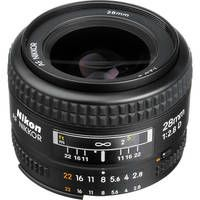 This would be fun too!  It's a 28mm f/2.8.  This one's $269. And although the 50mm is less expensive and provides another f-stop more, this one has a wider angle of view. Except on my sensor, it'd actually be a 42mm. But that would make some nice pictures.
