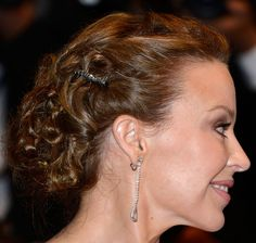 Kylie Minogue's Stunning Pinned Up Curls - Back View (Even MORE Stunning!)