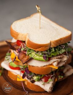 One of my favorite meals while growing up was a California Club Sandwich, and they don't get any better than with Martin's Old-Fashioned Real Butter Bread.