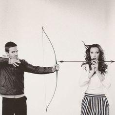 Cute duo! #arrow