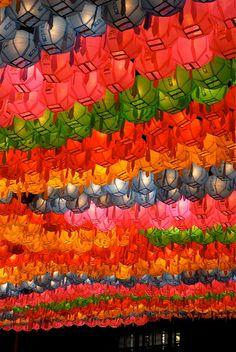 Lantern festival Jogyesa Temple, Korea