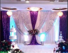 20x10FT-Pleated-Wedding-Backdrop-Curtain-Background-Decor-Sparkly-Sequin-Swag-07