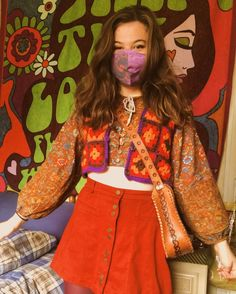 60s And 70s Fashion, 70s Inspired Fashion, Retro Fashion, Boho Fashion, Vintage Fashion, Fashion Design, 70s Outfits, Hippie Outfits, Pretty Outfits
