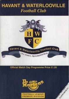 Havant & Waterlooville FC in Havant, Hampshire