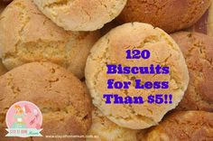 120 Biscuits for Less Than $5 | Stay at Home Mum