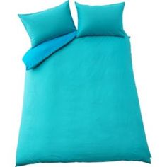 Buy Colour Match Fiesta Blue Polycotton Duvet Set - Kingsize at Argos.co.uk - Your Online Shop for Duvet cover sets.