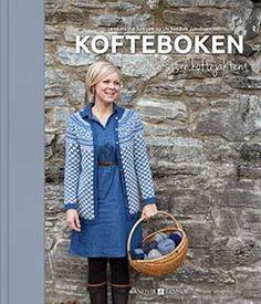 Kofteboken - Strik og broderi - garn, kits og designs i Sommerfuglen Knitting Books, Crochet Books, Knitting Charts, Hand Knitting, Knit Crochet, Knitting Patterns, Norwegian Knitting, Learn How To Knit, Knitting Supplies