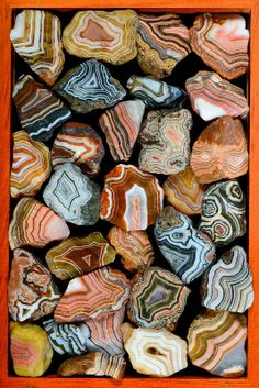 Big box of beautiful Fairburns (Captain Tenneal) Tags: agate collage south dakota fairburn Cool Rocks, Beautiful Rocks, Minerals And Gemstones, Rocks And Minerals, Fairburn Agate, Mineral Stone, Rocks And Gems, Patterns In Nature, Stones And Crystals