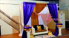 Wendy Purple and Gold Royal Affair | CatchMyParty.com