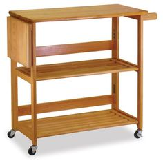 This would work for stand mixer and bake ware storage...use teak cart!