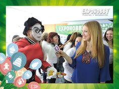 Entrevistamos al Mimo Hobbyto!! #Expohobby #Fiestas #Decoración #Veni #EncontraLoQueBuscas #Buses #Talleres #VentaDeInsumos #MesasExpositoras #LosMejoresProfesionales #LasMejoresMarcas #Ambientaciones #Shows #CabinaSelfie #Sorteos #GrandesPremios #Hoy #TengoGanasDe #IrAExpohobby Marina Capano