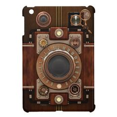 Steampunk Vintage Camera iPad Mini Cases