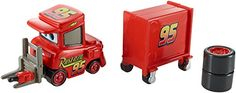 DisneyPixar Cars Piston Cup 2015 Series My Name is Not Chuck with Cart DieCast Vehicle 1718 155 Scale *** For more information, visit image link.