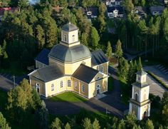 Kuhmo church , photo T. Grave Monuments, Church Building, Graveyards, Cathedrals, All Over The World, Finland, Trips, Buildings, Mansions