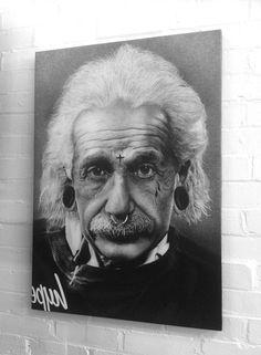 Albert Einstein modern version