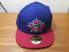 38b9ec2a586 NEW New Era 59Fifty Toronto Blue Jays Retro MLB Baseball Hat Cap 7 3 4  Throwback
