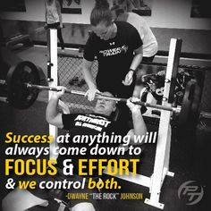 Stay focused and always give your best effort! Power Train Sports and Fitness can help you accomplish your goals! Keep Pushing Quotes, Awesome Quotes, Best Quotes, Monday Motivation, Fitness Motivation, Dwayne The Rock, Tough Girl, Always Learning, Stay Focused
