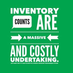 Inventory counts are a massive and costly undertaking.  Via @TradeGecko Read more here : http://ift.tt/1JZY6Uz  Connect with me on Twitter @HeatherSmithAU  #focused #simplify #taskmanagement #organized #todolist #workfromhome #makeithappen #empower #productivity #seizetheday #Cloud #CloudBusiness #Xero #xerocon  #Accounting #Bookkeeping #startuplife #entrepreneurs #podcast #contentmarketing
