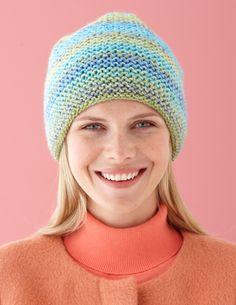 Caramel Swirl Hat (Knit)