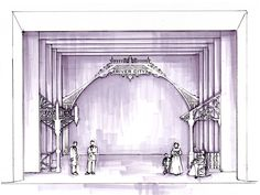 Painter's elevations for theater - Google Search