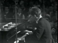 """▶ Van Cliburn plays Brahms (vaimusic.com) [ Excerpt from """"IV. Allegretto grazioso"""" Piano Concert No. 2 in B-flat major, Op. 83.  From: VAI DVD 4453 Van Cliburn in Moscow, Vol. 2.  Accompanied by the Moscow Philharmonic Orchestra and conducted by Kirill Kondrashin. Live performance (1972) Recorded in the Great Hall of the Moscow Conservatory.]"""