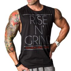 Cotton Vest Clothes Golds Shirt Sleeveless GASP Muscle Sports Men Shirts