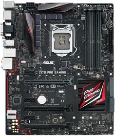Asus Z170 Pro Gaming Motherboard Released, See Features and Specifications