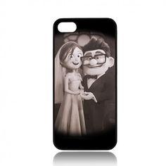 Disney Pixar Carl and Ellie B iPhone 4/ 4s/ 5/ 5c/ 5s case