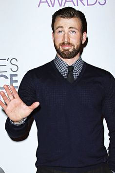 Chris Evans at the 41st Annual People's Choice Awards at Nokia Theatre LA Live on January 7, 2015 in Los Angeles, California.