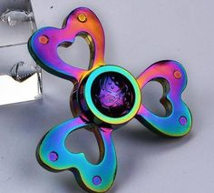 Lotus Flower Rainbow Spinner