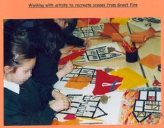 These four extra Great Fire of London teaching accounts were written by teachers who attended Nuffield Primary History in-service courses. Primary History, Teaching History, The Fire Of London, Reading Display, Link And Learn, The Great Fire, Fire Fire, Cross Curricular, London Art