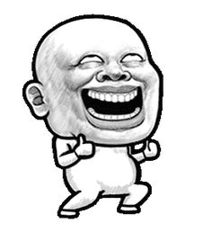 LINE Creators' Stickers - Human skin head (For overseas) A Example with GIF Animation