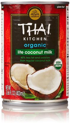 Thai Kitchen Lite Coconut Milk Simple $1.98 Thai® Kitchen Unsweetened Coconut Milk 13.66 Flozcan Decorating Design